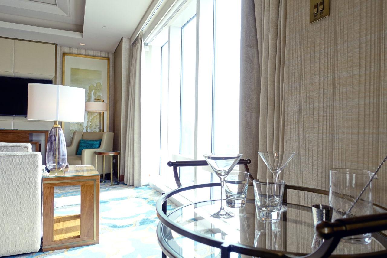 St. Regis Metropolitan suite bar