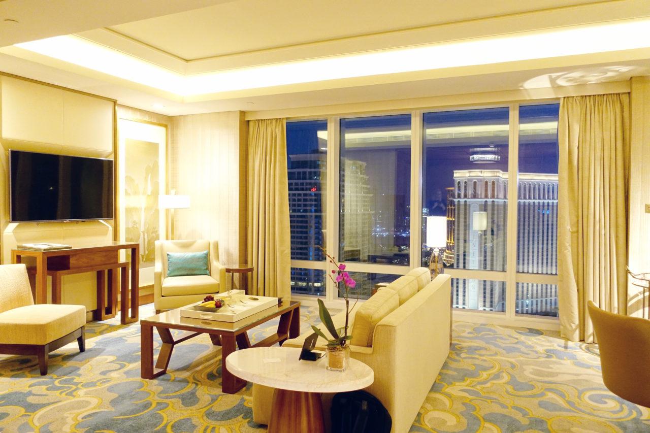 St. Regis Macao Metropolitan Suite living room