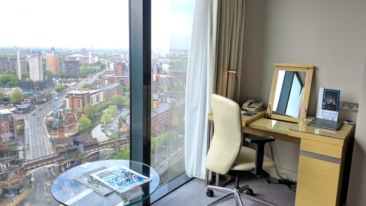 Hilton Manchester Deansgate room