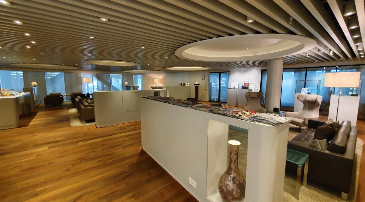 Zurich airport VIP lounge