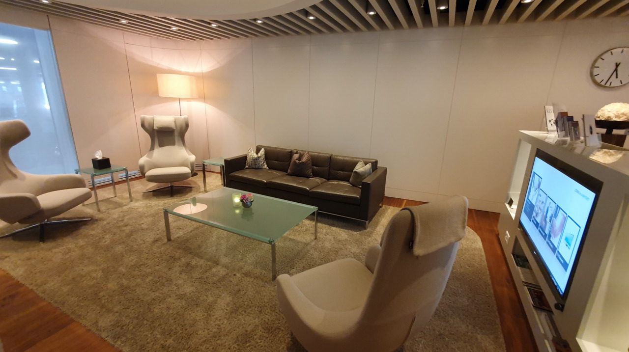 Zurich VIP lounge waiting area