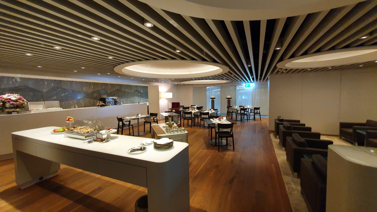 Zurich VIP restaurant area