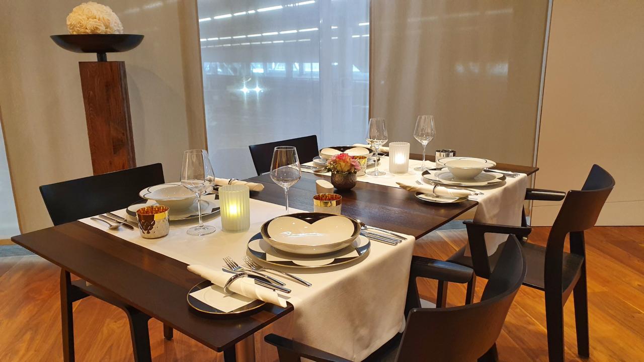 Zurich VIP lounge restaurant