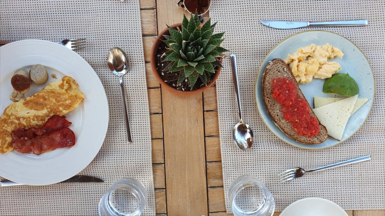 Nobu Ibiza breakfast