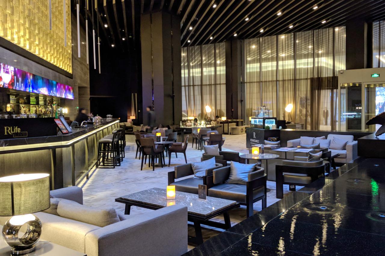 Renaissance Beijing lobby