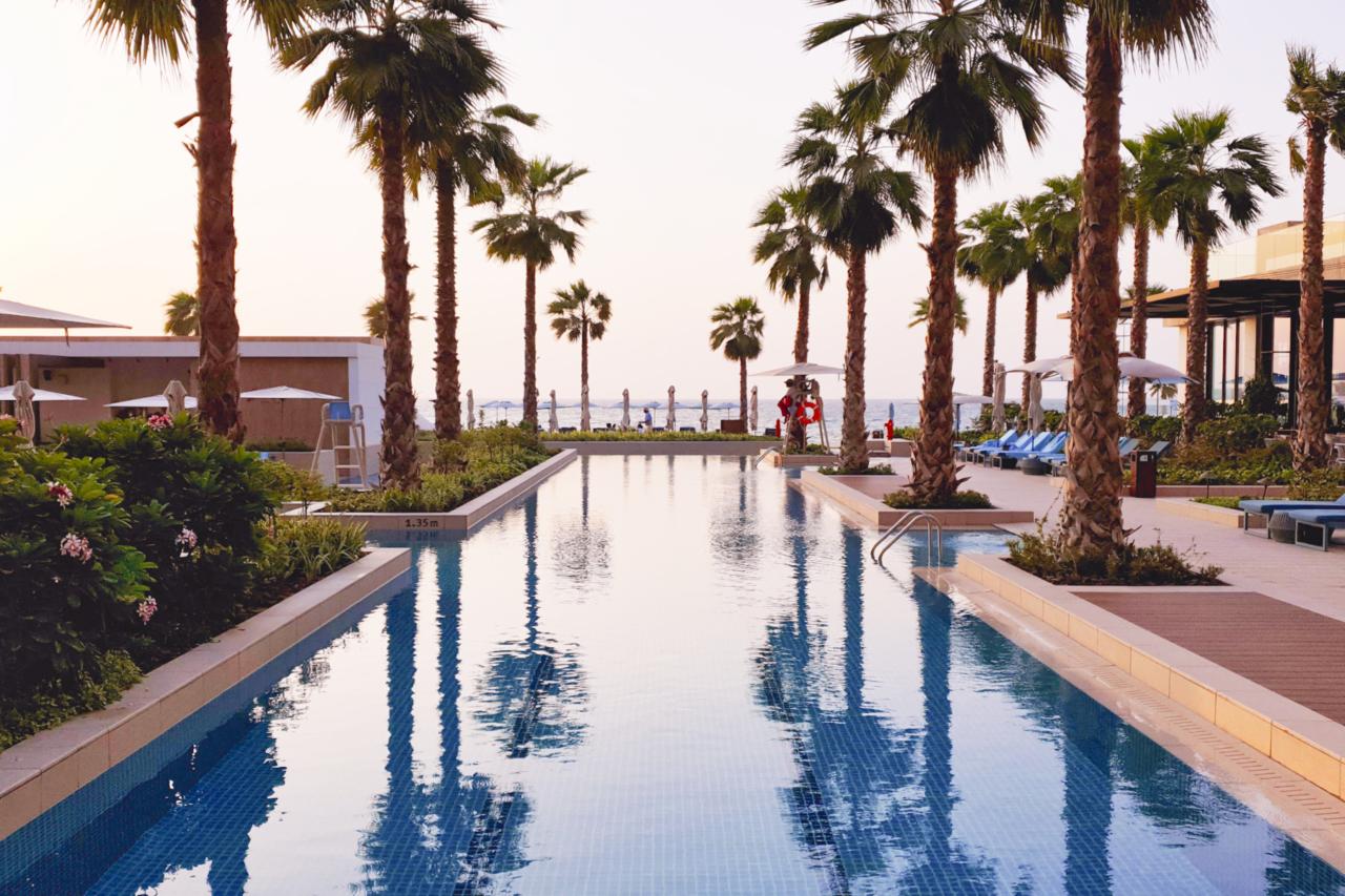 MO Dubai hotel sunset