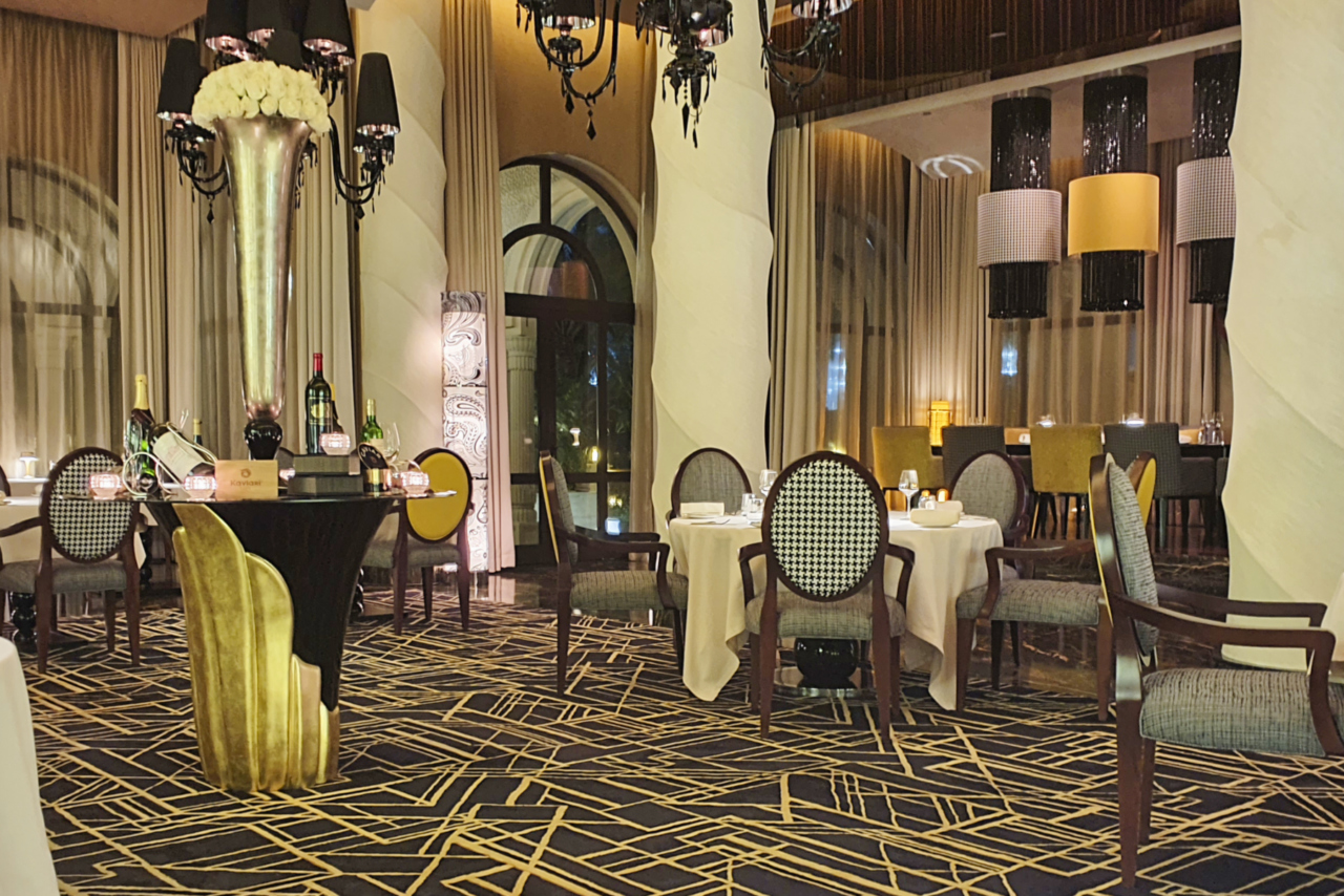 fine dining one&only dubai stay yannick alleno