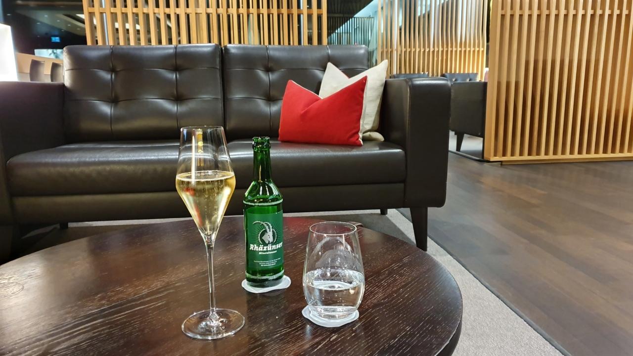 Swiss First Class Lounge Zurich airport
