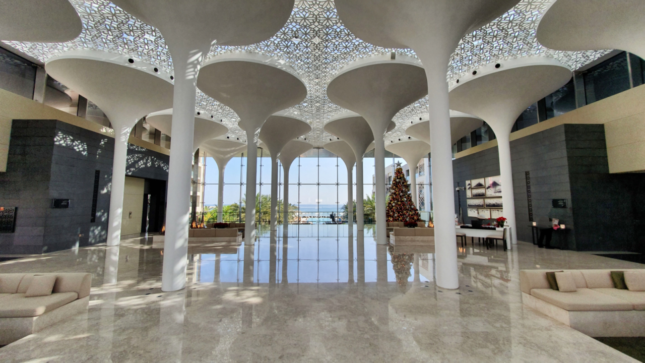 Kempinski Muscat lobby