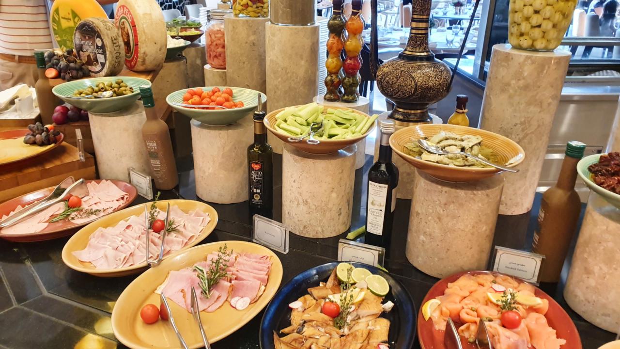 Muscat breakfast buffet Oman