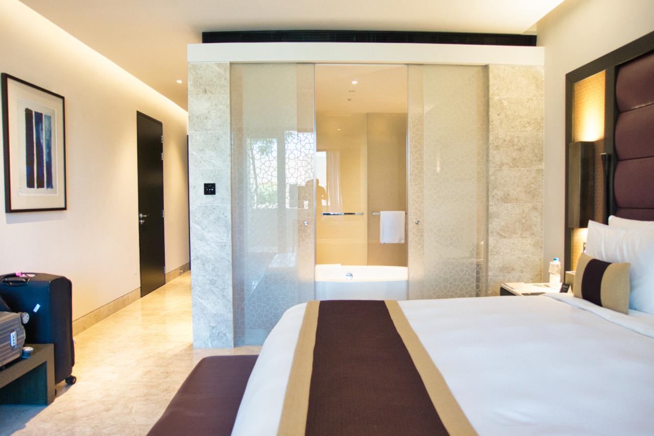 Deluxe resort view room Kempinski Muscat