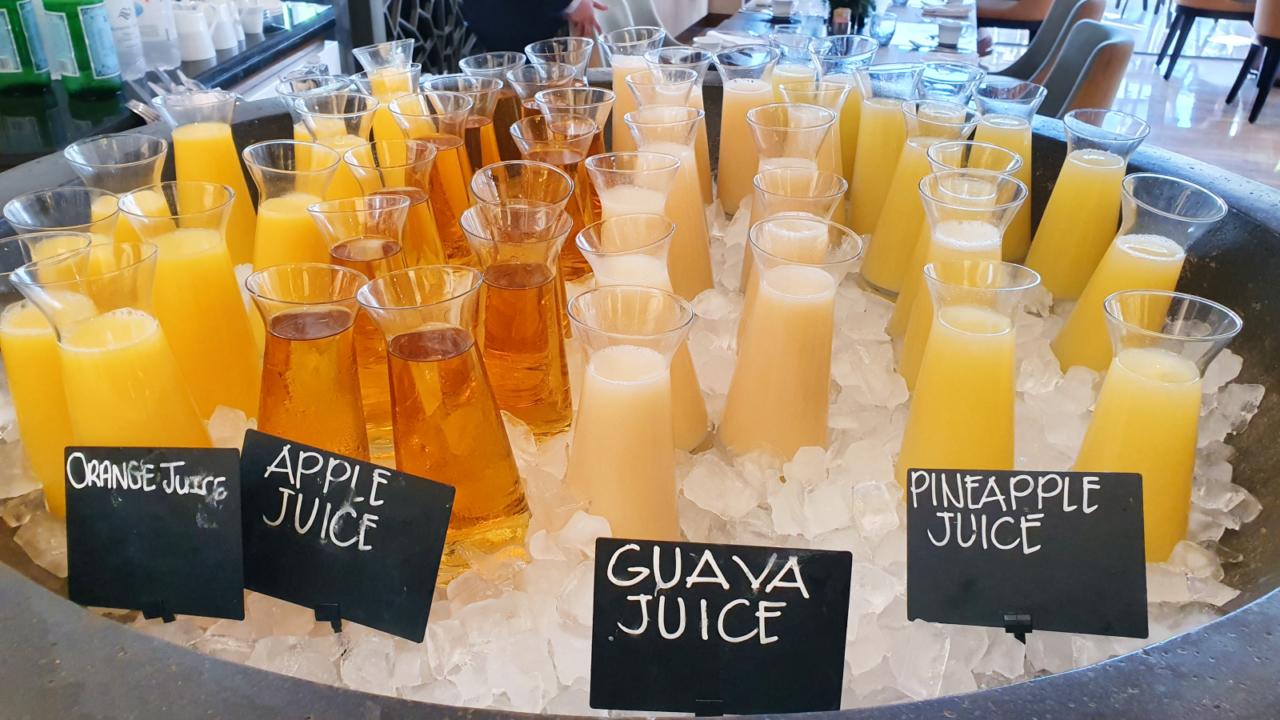 Fresh juices The Kitchen Oman