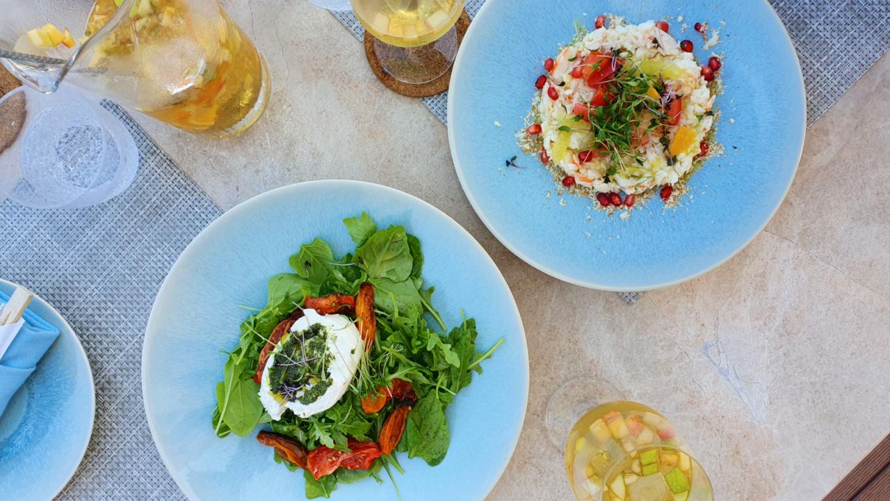 Lunch at Zale beach club Muscat Oman