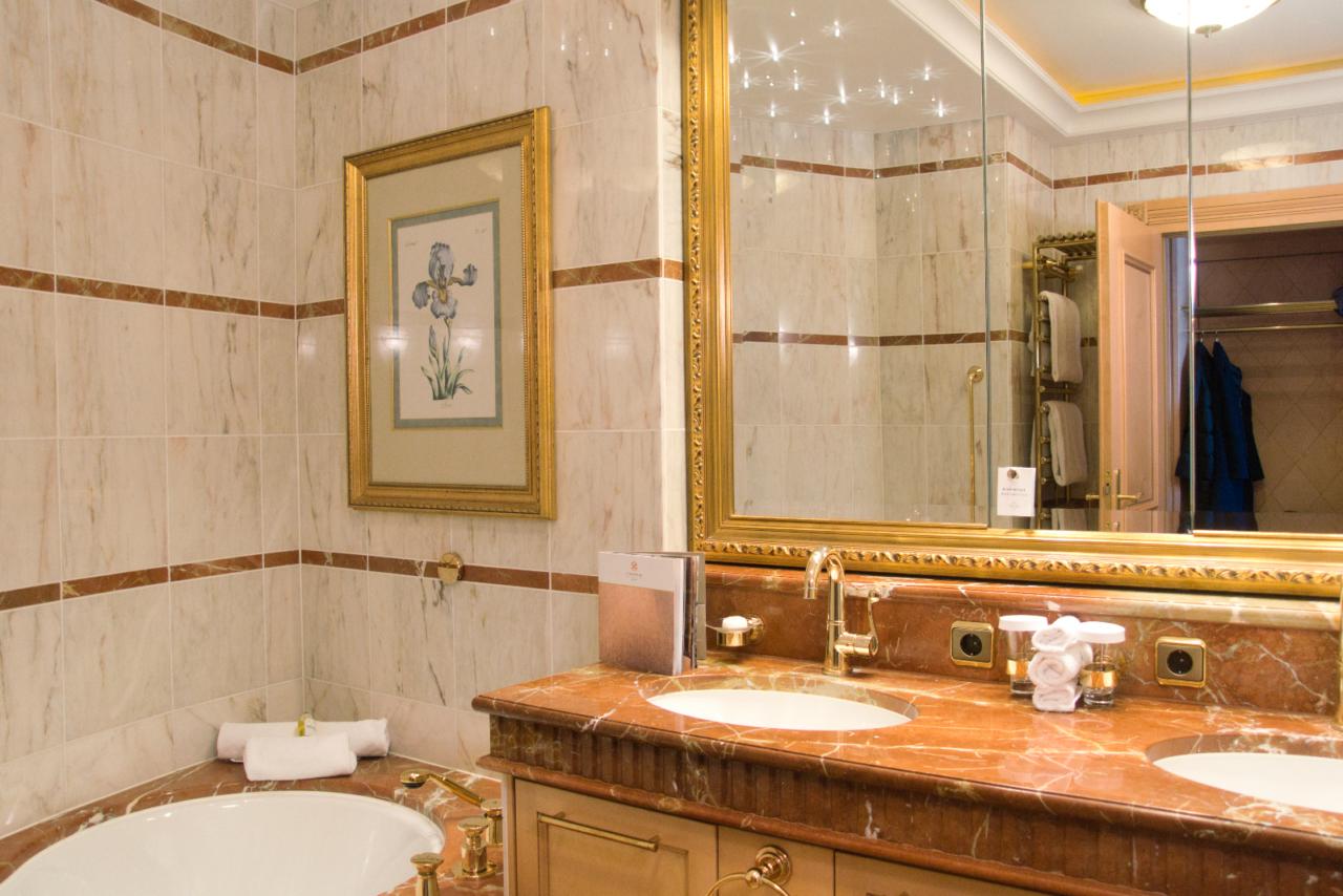 Bathroom Seehotel Ueberfahrt