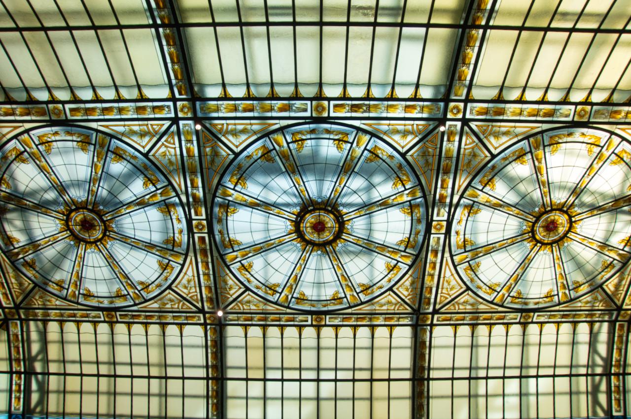 Bellevue Palace Bern Palm Garden