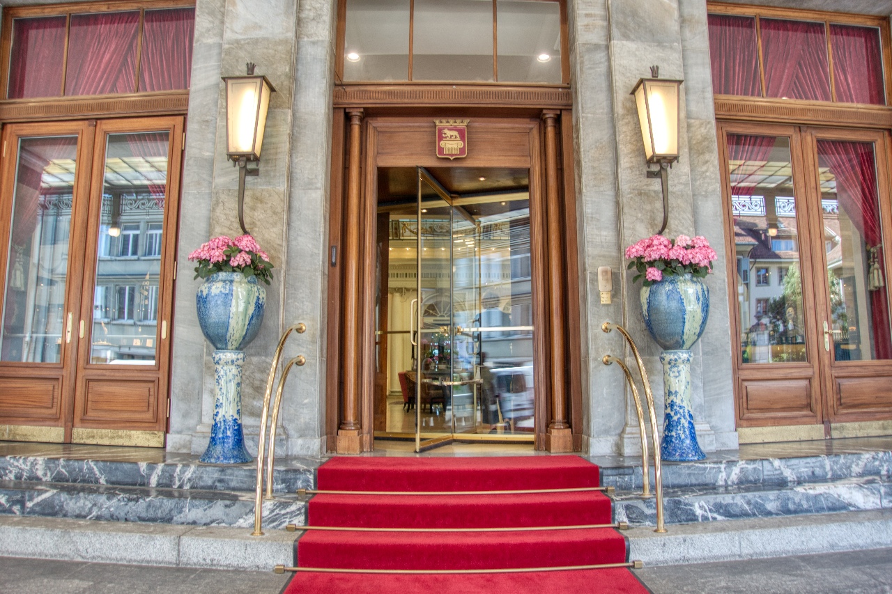 Bellevue Palace Grand Hotel Bern Welcome