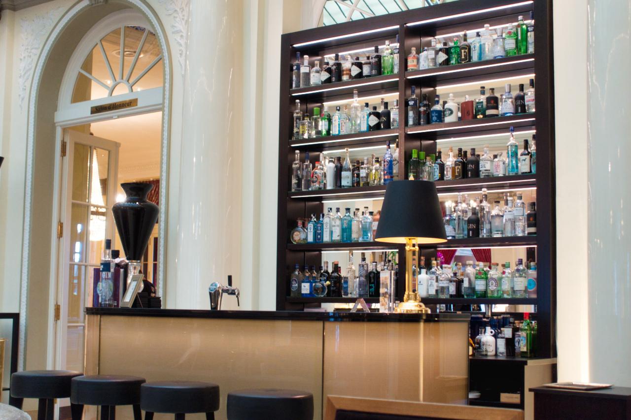 Bellevue Palace Bern Lobby Gin Bar