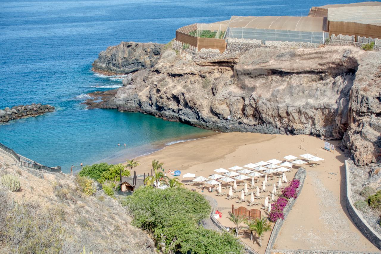 Ritz Calrton Abama Tenerife Beach