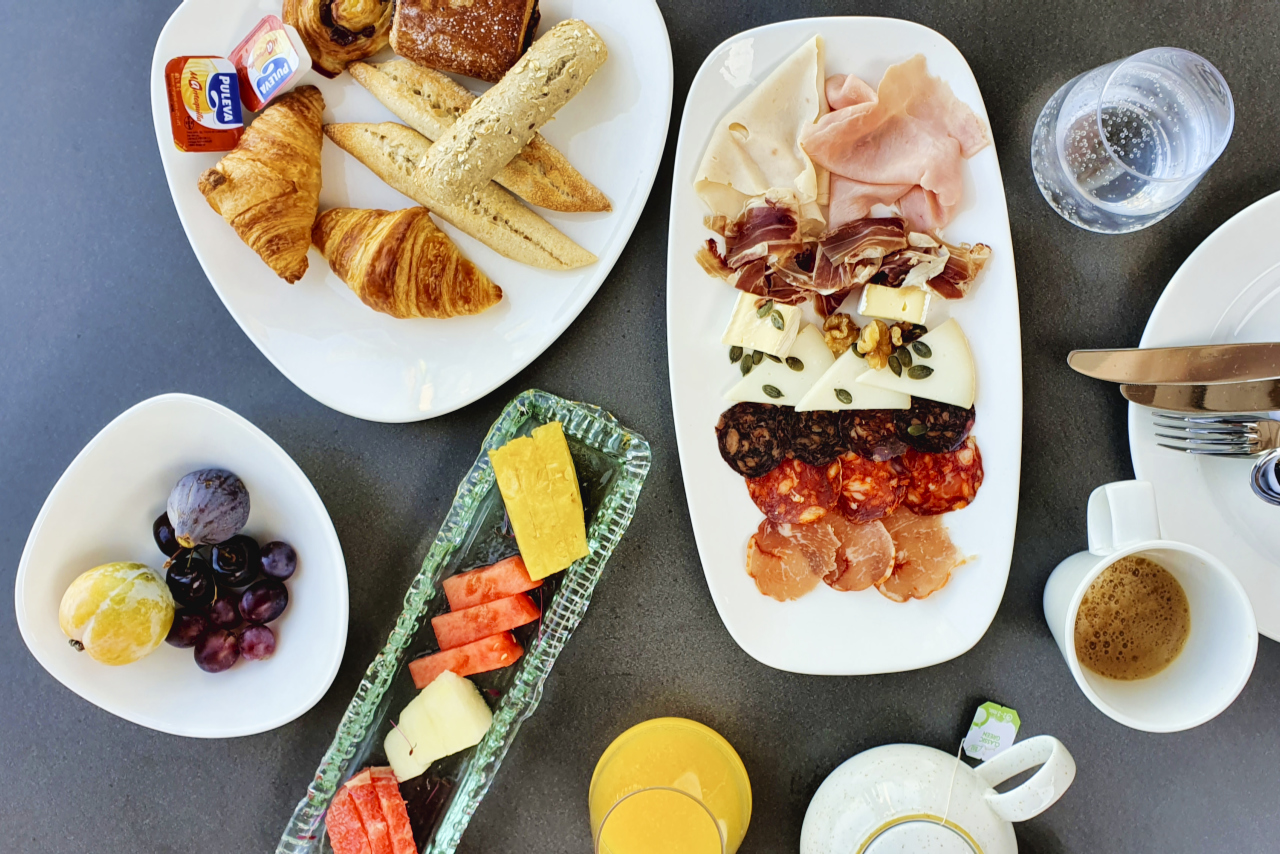 Ritz Calrton Abama Tenerife Breakfast