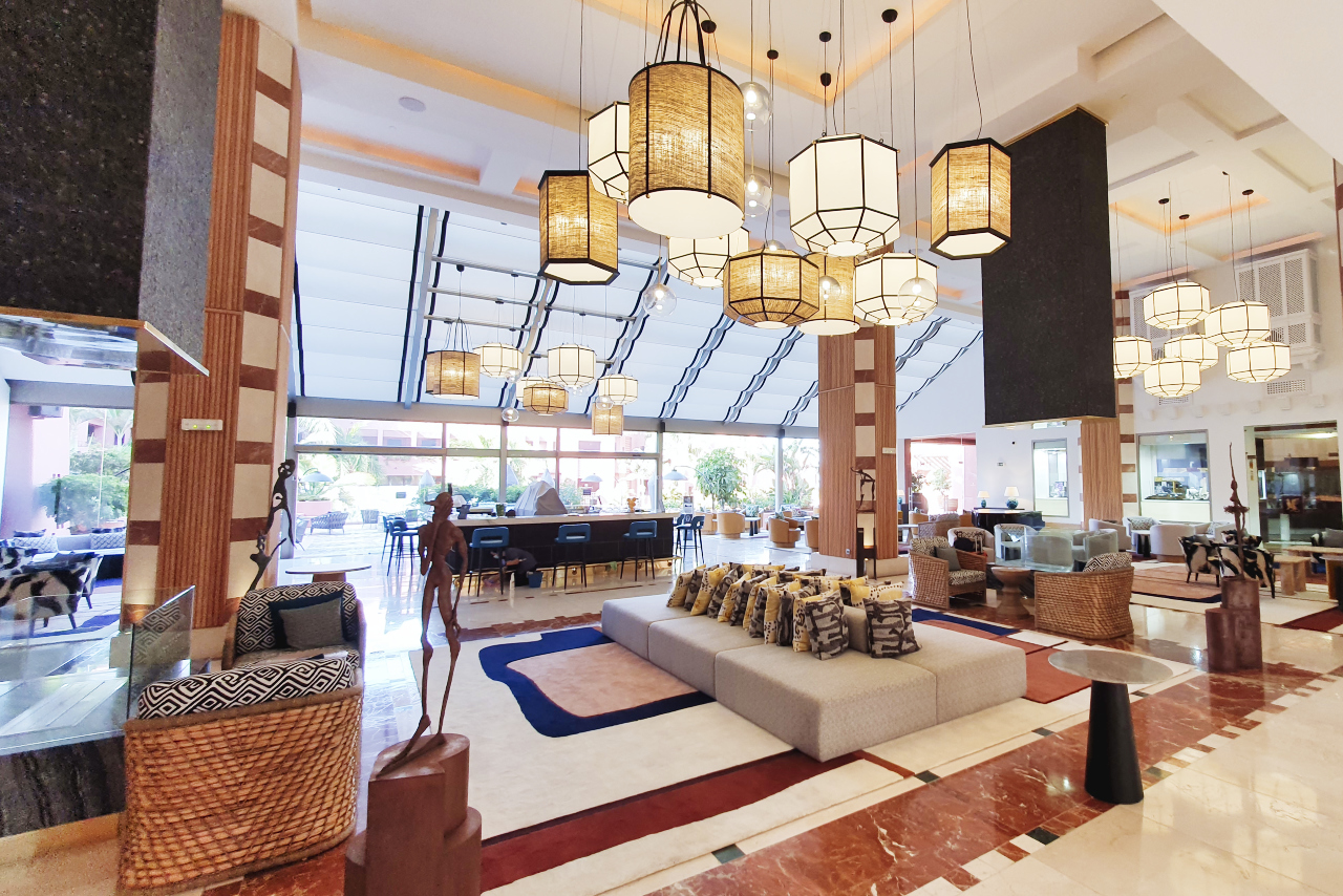 Ritz Carlton Abama Lobby