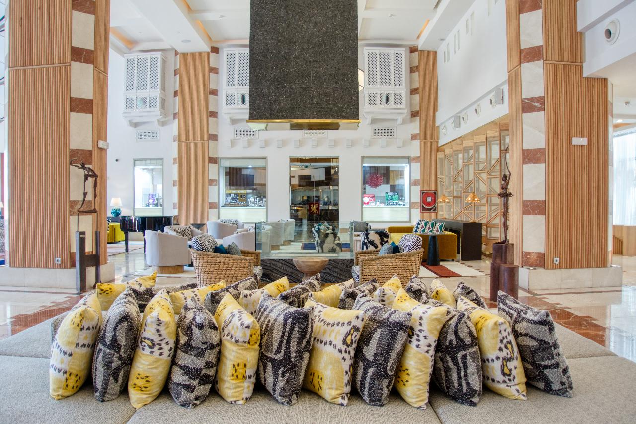 Ritz Calrton Abama Tenerife Lobby Details