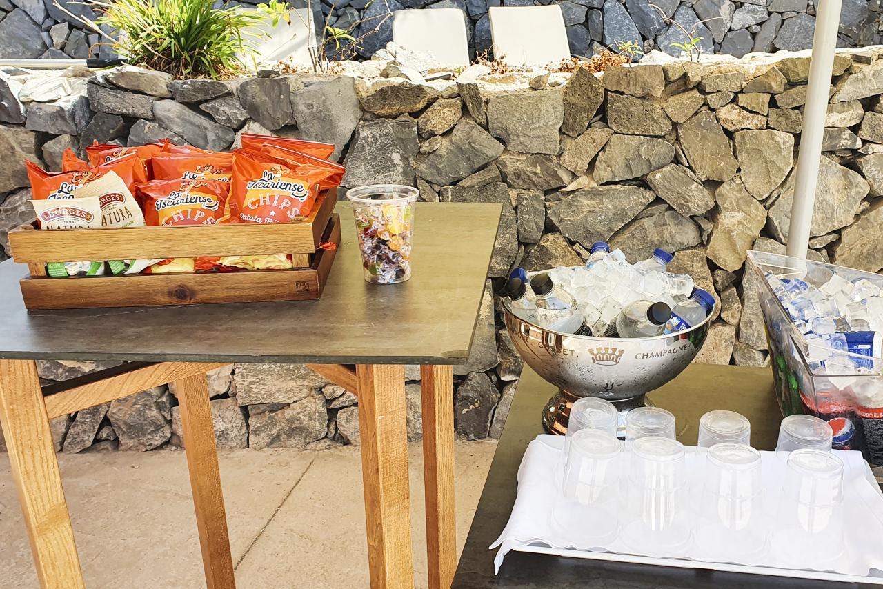 Ritz Calrton Abama Tenerife Pool Snacks