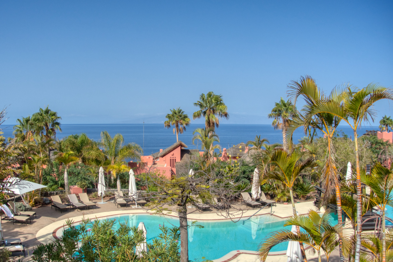 Ritz Calrton Abama Tenerife Villa Pool