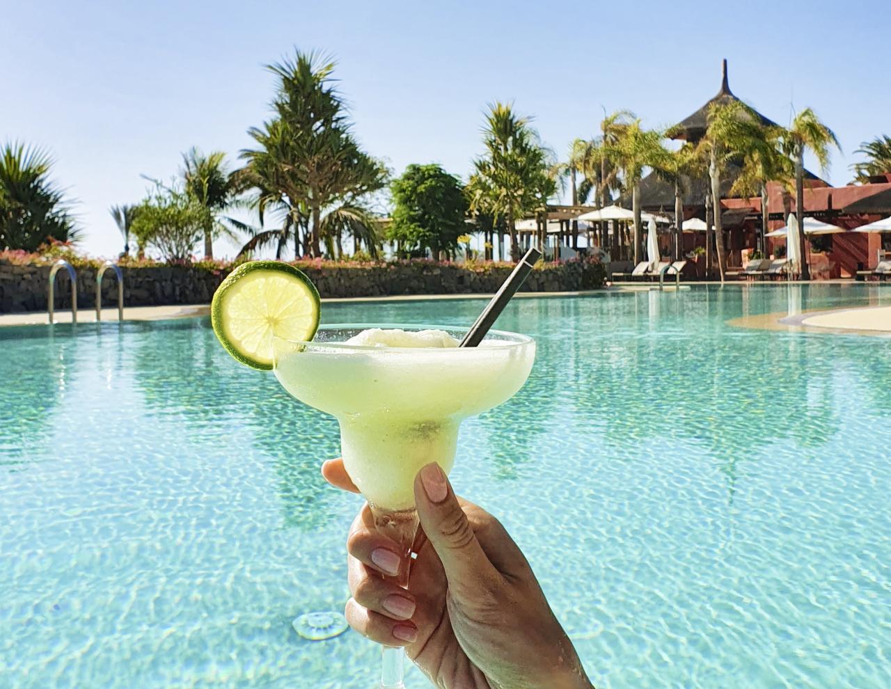 Ritz Calrton Abama Tenerife Pool Drinks