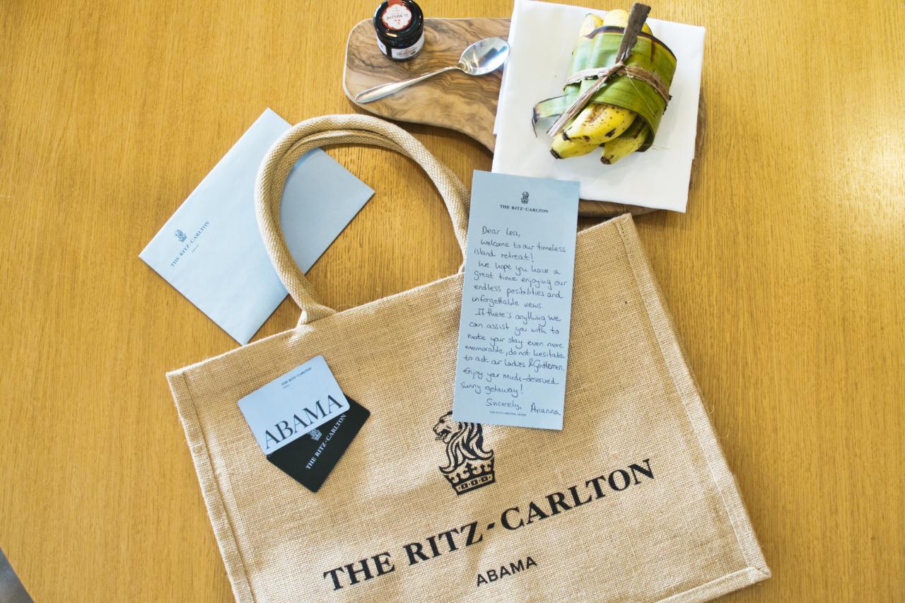 Ritz Abama Welcome