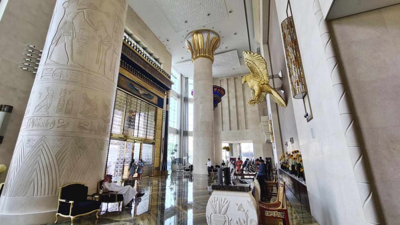 Sofitel Dubai Obelisk lobby